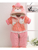 Baby Casual/Daily Animal Print One-Pieces,Cotton Winter Spring Fall Long Sleeve