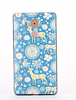 For Huawei Mate 9  Mate 8 Pattern Case Back Cover Case Animal Soft TPU