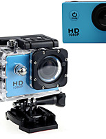 Action cam / Sport cam 16MP 640 x 480 1920 x 1080 1280 x 720 LED Impermeabile Tutto in uno Regolabile USB G-Sensor Grandangolo 60fps No 2