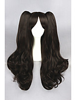 longue vague sort la nuit brune séjour -tohsaka rin 28inch synthétique anime cosplay ponytails wigcs-216a