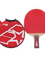 1 звезда Настольный теннис Ракетки Ping Pang Дерево Длинная рукоятка Прыщи В помещении Выступление Практика Активный отдых-#