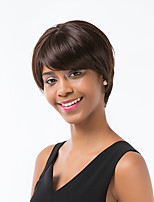 Ethereal   Linen Short Hair Human Hair Wig For Women