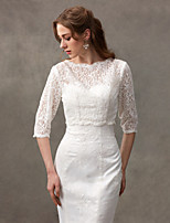 Women's Wrap Shrugs Lace Wedding Lace