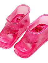 Women's Boots Spring Fall Comfort PVC Casual Flat Heel