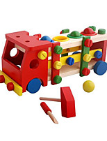 Building Blocks For Gift  Building Blocks Leisure Hobby Bus Wood 2 to 4 Years 5 to 7 Years 8 to 13 Years Toys