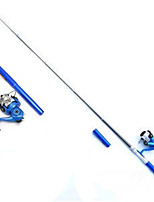 Fonoun Pen Fishing Rod  High Quality 1m with Hook 50m Fishing Line Lure Gift XY111