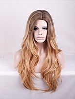 Synthetic Wigs Natural Culy Long Blonde Ombre Wigs for Women Costume Capless Wigs