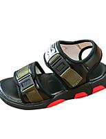 Boys' Sandals Summer Comfort PU Outdoor Flat Heel