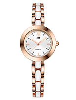 Women's Wrist watch Chinese Quartz Alloy Band Silver Gold