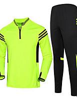 Unisexe Football Maillot + Short/Maillot+Cuissard Respirable Printemps Eté Automne Hiver Classique Polyester Football