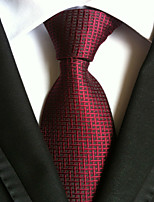 Men's Polyester Neck TieParty Work Houndstooth All Seasons W0008