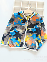 Unisex Casual/Daily Rainbow Suit & Blazer,Cotton Spring Long Sleeve