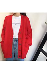 Tee-shirt Femme,Imprimé Décontracté / Quotidien simple Printemps Eté Manches Courtes Col Arrondi Coton Opaque