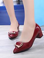 Femme-Bureau & Travail Habillé--Gros Talon-club de Chaussures Confort-Chaussures à Talons-Similicuir
