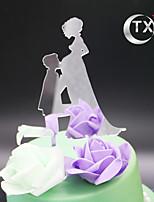 Figurky na svatební dort Nepřizpůsobeno Klasický pár Akryl 15. narozeniny a sladkých 16 Klasický motiv OPP