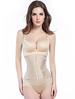 Women's Underbust Corset Nightwear,PrintThin Nylon