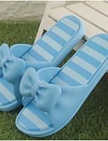 Красный Синий-Для женщин-Повседневный-Резина-На плоской подошве-Босоножки-Тапочки и Шлепанцы