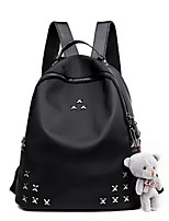Women Oxford Cloth Casual Backpack All Seasons