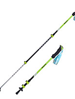 3 Nordic Walking Poles 1 pcs 135cm (53 Inches) Damping Foldable Light Weight Adjustable Fit Aluminum AlloyCamping & Hiking Traveling