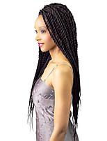 Havana Senegal Box Braids Crochet Coily Curly Braids Hair Extensions Kanekalon Hair Braids