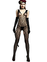 Women's Sexy Temptation Lace Jacquard Net Clothes Suits
