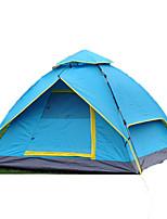 3-4 человека Световой тент Двойная Складной тент Однокомнатная Палатка 1500-2000 мм Стекловолокно ОксфордВлагонепроницаемый