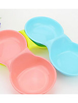 Dog Feeders Pet Bowls & Feeding Blushing Pink Blue