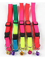Collar Leash Safety Training Solid PU Leather Leash Pink Blue