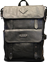 Men Sports & Leisure Bag PU All Seasons Sports Outdoor Professioanl Use Camping & Hiking Climbing Zipper Black