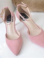 Femme-Décontracté--Talon Aiguille-Confort-Chaussures à Talons-Polyuréthane
