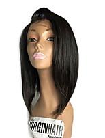 Парик шнурка bob человеческих волос парика bob париков шнурка новых бразильских виргинских волос прямой прямой remy для черной женщины