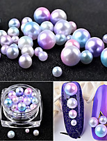 1PC The New The Mermaid Pearl Nail Art shading The Gradient Pearl