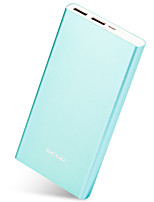 Scud® m105 plus bleu 15000mah batterie de puissance 5v 2.0a batterie externe multi-sortie