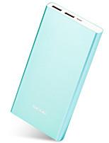 Scud® m105 plus azul 15000mah banco de energía 5v 2.0a batería externa multi-salida