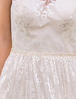 Miçangas Casamento Faixa-Imitação de Pérola Imitação de Pérola