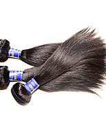 Top Grade Hair Products Peruvian Virgin Hair Silk Straight Mixed 3Bundles 300g Lot Natural Human Hair Color 100% Unprocessed Original Best Quality Now