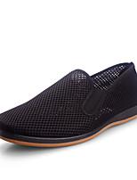 -Для мужчин-Повседневный-Ткань-На плоской подошве-Удобная обувь-Мокасины и Свитер