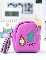 Fruit Pattern Change Purses PU Leather 1 PCS