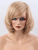 heißen Verkauf reif Teil fringe mittel lange Haare Menschenhaarperücke geeignet für alle Arten von Menschen