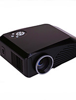 Projecteur home cinéma h88 hd1080p 1000lumens 3d led av / usb / vga / sd
