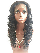 Beata Hair Glueless 10-26 Inches Brazilian Human Hair Wigs Lace Front Wig Natural Wave - 130% Density for Black Women