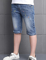 Boys' Casual/Daily Print Jeans-Cotton Summer