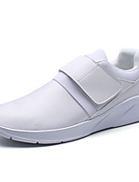 Белый Черный Красный-Для мужчин-Для прогулок Для офиса Повседневный-ПолиуретанУдобная обувь-Спортивная обувь