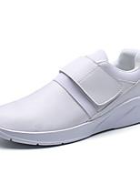 Men's Athletic Shoes Spring Summer Fall Winter Comfort PU Outdoor Office & Career Casual Hook & Loop Walking