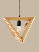 Pendant Light ,  Modern/Contemporary Country Wood Feature for LED Wood/Bamboo Living Room Bedroom Dining Room Kitchen Study Room/Office
