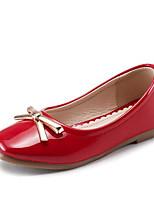 -Девочки-Повседневный-Дерматин Полиуретан-На плоской подошве-Удобная обувь-На плокой подошве
