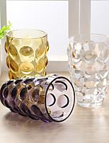 Coloridas novidade drinkware 300ml namorado presente noiva presente vidro cerveja suco vidro