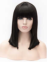 Stylish Long Bob Hairstyles Synthetic Wig Natural Straight Wig For Women 2017