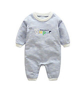 Baby Casual/Daily Solid One-Pieces,Cotton Summer Fall Long Sleeve