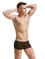 Сексуальные платья Увеличивающий объем Ультра-соблазнительные трусики Боксеры,Ice Silk (искусственное волокно)